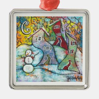 Wonderfully Wacky Winter Christmas Ornament
