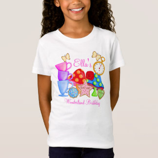 Wonderland Birthday T Shirt