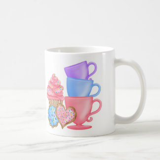 Wonderland  Birthday Tea Party Basic White Mug