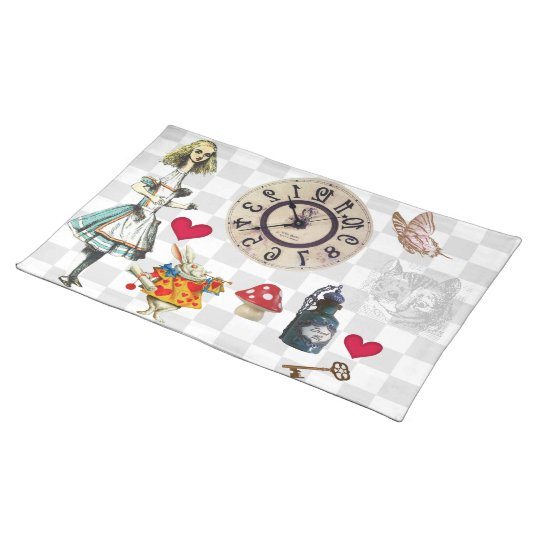 Wonderland Collage Placemats