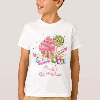 Wonderland Cupcake Candy Lollipop Sweet Tarts T-Shirt