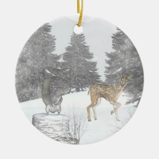 Wonderland forest Christmas Ornament