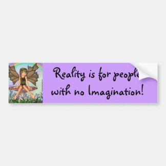 Wonderland Forest Fairy Bumper Sticker
