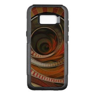Wonderland Fractal Stairway, Three-Ringed Circus OtterBox Commuter Samsung Galaxy S8+ Case