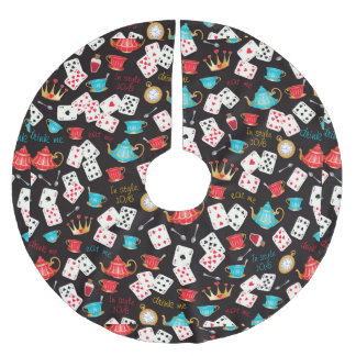 Wonderland Prints Brushed Polyester Tree Skirt