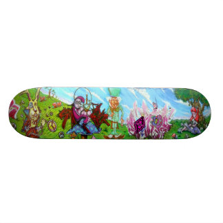 Wonderland - Sk8 Street Art Skate Board