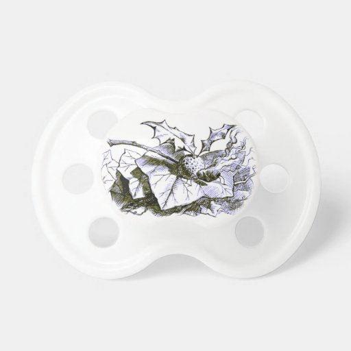 Wonderland Snap Dragonfly Blue Tint Baby Pacifiers