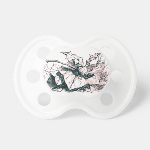 Wonderland Snap Dragonfly Pink Tint Baby Pacifiers