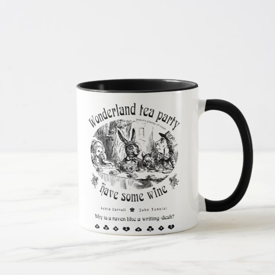 Wonderland tea party Mug