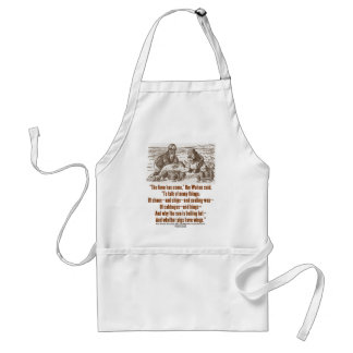 Wonderland Time Has Come Through Looking Glass Standard Apron