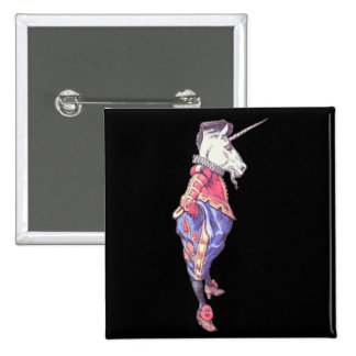 Wonderland Unicorn 15 Cm Square Badge