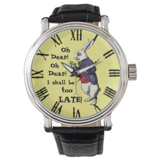 Wonderland White Rabbit Watch