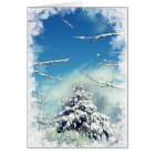 Wonderland Winter Solstice Card