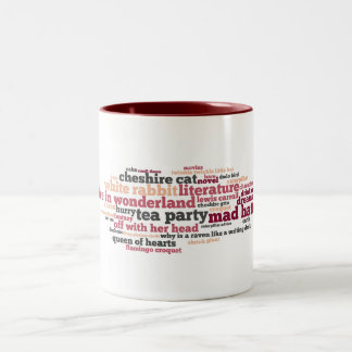 Wonderland Words Mug