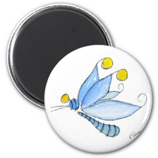 Wonderlandia Dragonfly Magnet