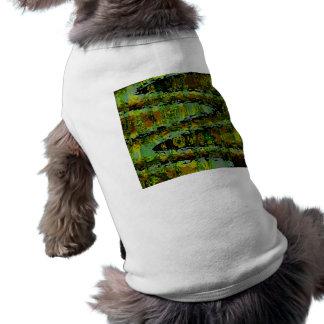 Wonderlands - Dark Green Lagoons Sleeveless Dog Shirt