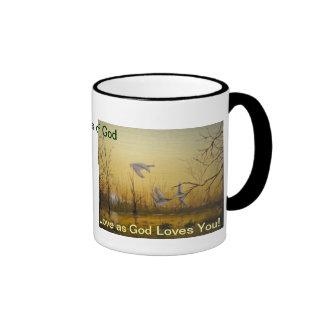 Wonders of God Ringer Mug