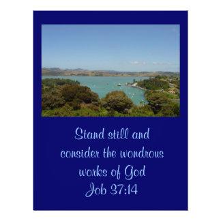 Wondrous Works [of God] - Job 37:14 Custom Flyer