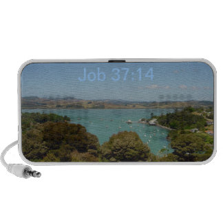 Wondrous Works [of God] - Job 37:14 Notebook Speakers