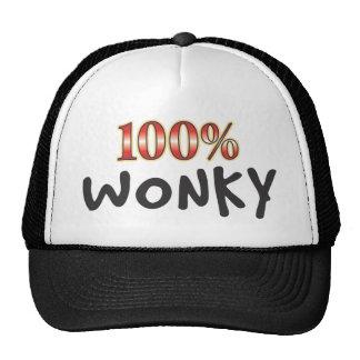 Wonky 100 Percent Cap