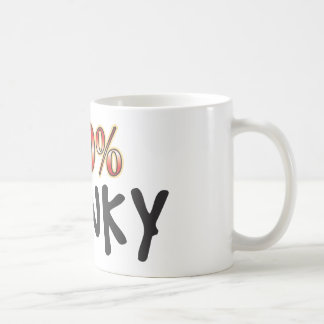 Wonky 100 Percent Coffee Mug