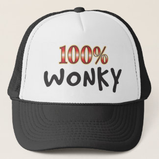 Wonky 100 Percent Trucker Hat