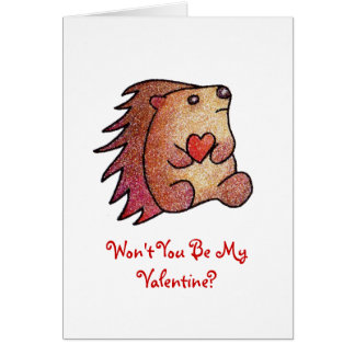 Won't You Be My Valentine? Card