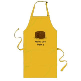 Won't you have a taste...? long apron