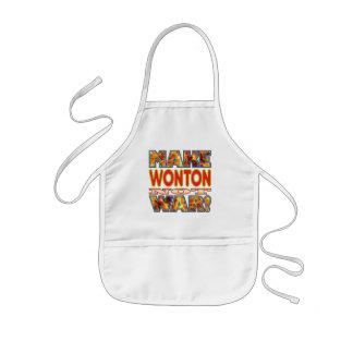 Wonton Make X Kids Apron