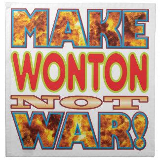 Wonton Make X Cloth Napkins