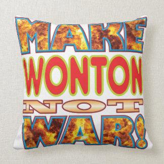 Wonton Make X Cushions