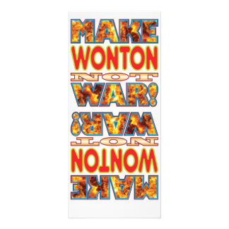Wonton Make X Customized Rack Card