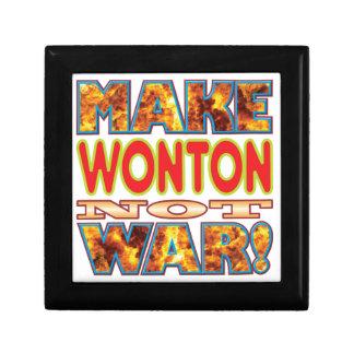 Wonton Make X Small Square Gift Box