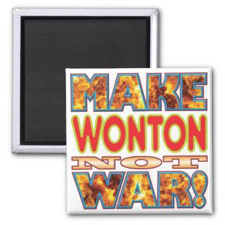 Wonton Make X Square Magnet