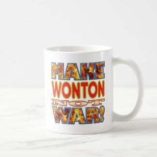 Wonton Make X Basic White Mug
