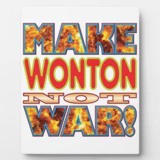 Wonton Make X Photo Plaque