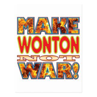 Wonton Make X Postcard