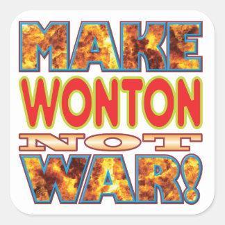 Wonton Make X Square Sticker