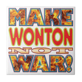Wonton Make X Small Square Tile