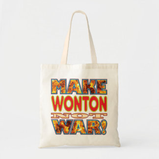 Wonton Make X Budget Tote Bag