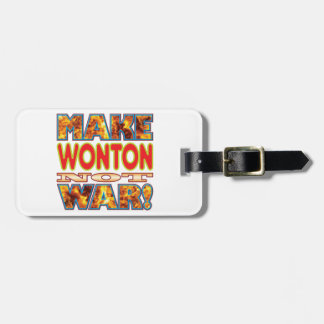 Wonton Make X Travel Bag Tag