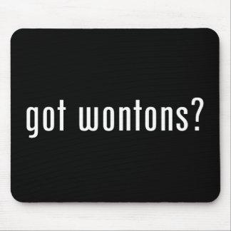 wonton mouse pad