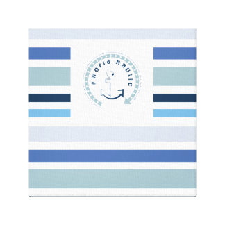 WONZ Limited world nautic by shirt to design Canvas Print