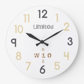 WONZ Limited world nautic by shirt to design Clock
