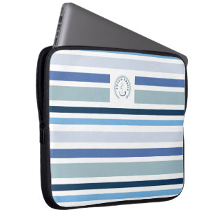 WONZ Limited world nautic by shirt to design Laptop Sleeve