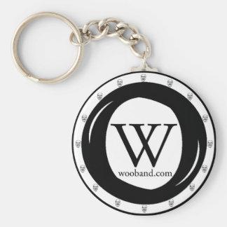 WOO Band Keychain