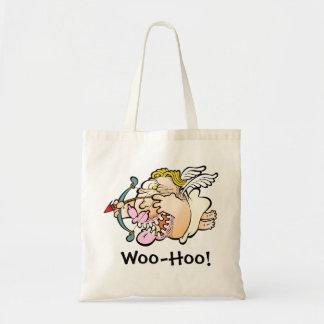 Woo-Hoo Cupid Budget Tote Budget Tote Bag
