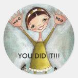 Woo Hoo Girl - Stickers