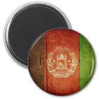 Wood Afghanistan Flag; Afghan Magnet