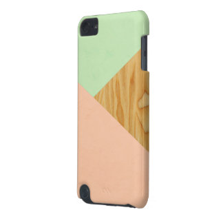 Wood and Pastel Abstract iPod Touch 5G Case